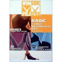 3 Dvds Winsor Pilates Esculpiendo Cuerpo Ejercicio