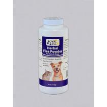 Talco Herbal Antipulgas Para Perros Y Gatos Royal Pet