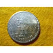 Antigua Moneda 50 Cnt. Balanza 1881 Cn. D., Plata.
