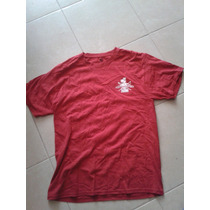 Playera Us Army Marines Corp Roja Doble Estampado