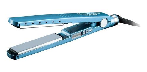 Plancha De Cabello Babyliss Pro 2091 Babnt2091tes Azul Con Placas De Titanio 110v