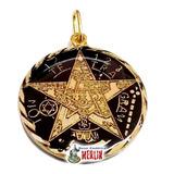 Pentagrama O Tetragramatón Ritualizado 7 Metales Visibles