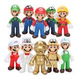 1 Muñeco Figura Mario Bros Luigui Mario Odyssey Yoshi Bowser