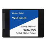 Disco Sólido Interno Western Digital  Wds500g2b0a 500gb Azul
