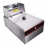 Freidora  Industrial Yescom 26fry002-s2500 Plata  110v