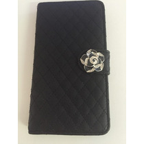 Funda Cartera Iphone 6 Plus Negra **liquidacion**cyndy*
