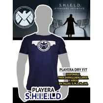 Playera Shield Super Heroes