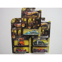 Hot Wheels Set 2012 Halloween Excelente Unico