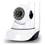 Camara Seguridad Ip Wifi 360º Hd 720p 2 Antenas Nocturna