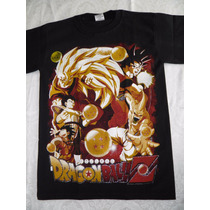 Playeras Anime Dragonball,hellsing, One Piece Venta Mayoreo