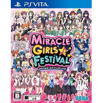 Juego De Baile Ps Vita Miracle Girls Festival Anime