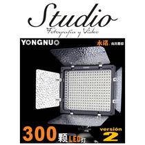 Lámpara De 300 Leds Y Control Remoto Yongnuo Yn300-ll