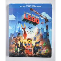 Película La Gran Aventura Lego Lego Movie Blue Ray + Dvd