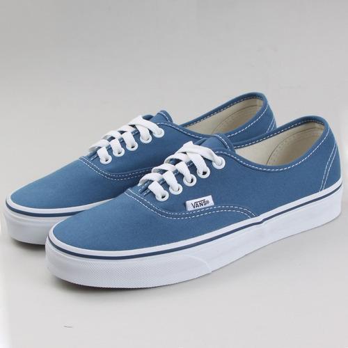 Vans Tenis Hombre Azules