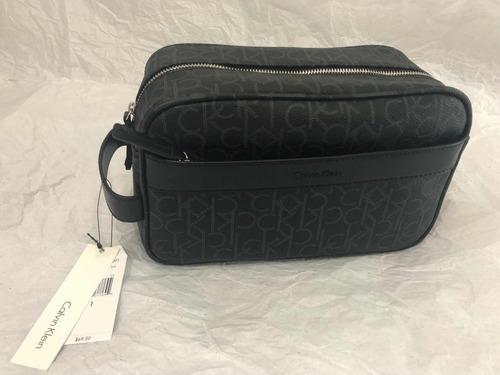 Bolsa Cartera Mariconera Calvin Klein Negra Letras Ck Hombre en ... 817990e3b749