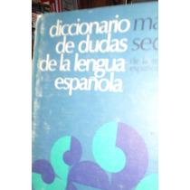 Diccionario De Dudas De La Lengua Española Manuel Seco