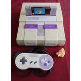 Consola Super Nintendo Snes + S. Mario World + Envío Gratis