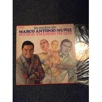 Lp Lo Mejor De Marco Antonio Muñiz