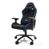 Silla De Escritorio Game Factor Cgc600 Gamer Ergonómica Negra/azul