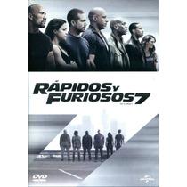 Dvd Rapidos Y Furiosos 7 ( Fast & Furious 7 ) 2015 - James W