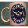 Taza Legend Of Zelda Hyrule Coffee