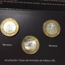 Set 470 Casa De Moneda - 80 Aniv. Banxico- Reforma Monetaria