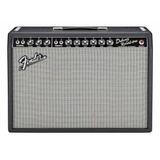 Amplificador Fender Vintage Reissue '65 Deluxe Reverb 22w Valvular Negro Y Plata 110v