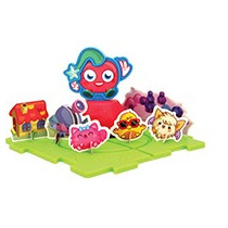 Moshi Monsters Set De Luvli Armable Del Burger King