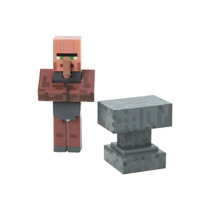 Minecraft Villager Blacksmith Figura Coleccionable