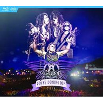 Aerosmith Rocks Donington 2014 Importado 2 Cd + Bluray Nuevo