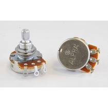 Potenciometros Alpha A500k Y B500k (logarítmicos Y Lineales)