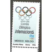 Estampilla Comite Olímpico Internacional 1994