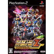 Super Robot Wars Z Special Disc Ps2 Japones