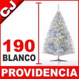 Arbol De Navidad Blanco Mate 190 Providencia Envio Inmediato