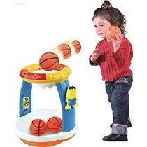 Toy Baloncesto Wolvol Eléctrico Del Bebé Con Luces Y Música