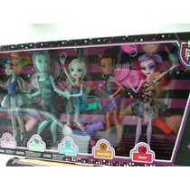 Monster High 5 Pack Class Dance Gil Weebert ¡¡¡¡ Nuevos !!!