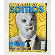 El Santo Vida, Obra Y Milagros Revista Mexicana Somos 1999