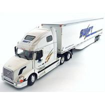 1:53 Tracto Camion Volvo Vnl 670 Tonkin Caja Seca Great Dane