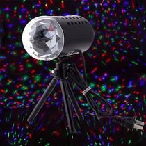 Disco Giratorio Con Iluminación Led De Cristal Blakhelmet Sp
