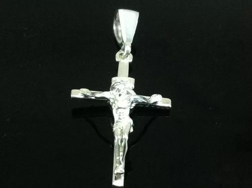 6650345049c5 Dije Cruz Con Cristo Y Zirconia En Plata 925 Religioso Taxco en venta en  Taxco De Alarcón Guerrero por sólo   389