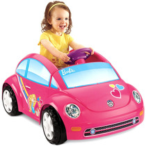 Carrito Niña Fisher-price Power Wheels Barbie Volkswagen Vv4