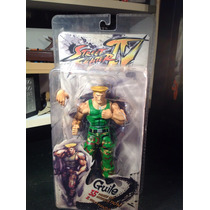 Street Fighter Guile Neca Round 2 Figura
