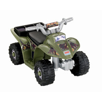 Moto Niños Fisher-price Power Wheels Cuatri Moto Camping Pm0