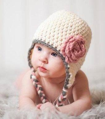 Gorros Tejidos Crochet Bebé Niña Niño Regalo Babyshower Dhl 69141bb5e93