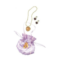 Rapunzel Traje - Bolsa Muchachas Con Pendientes Bisutería Y