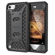 Ulak Ipod Touch 6 Y Ipod Touch 5 Case, [knox Armor] De Doble