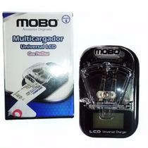 Multicargador De Pila De Celular Universal Con Clavija Negro