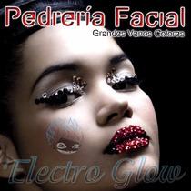 Pedreria Facial Grande Varios Colores Kit
