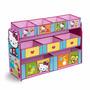 Organizador Hello Kitty Multi Bin 9 Contenedores De Tela