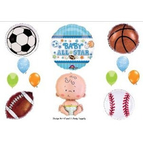 ¡es Un Bebé Boy Shower Suministros Star Sports Globos Decora